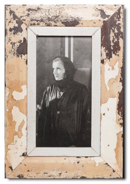 Panorama Bilderrahmen aus recyceltem Holz für Fotogröße 29,7 x 14,8 cm