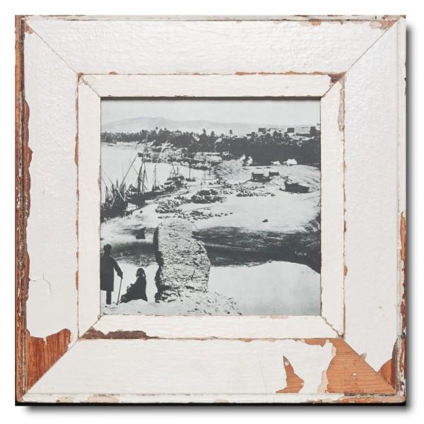 Altholz Bilderrahmen Quadrat für Bildgröße 21 x 21