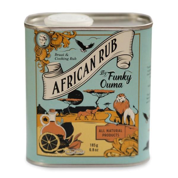 African Rub - Grill Gewürzzubereitung