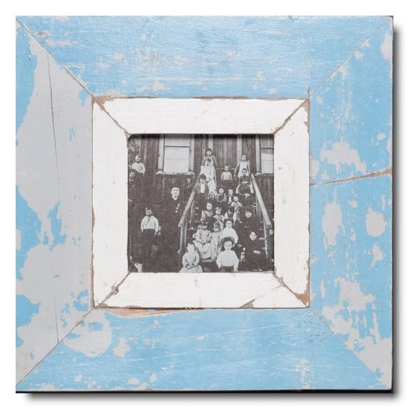 Altholz Bilderrahmen Quadrat für Fotogröße DIN A6 Quadrat