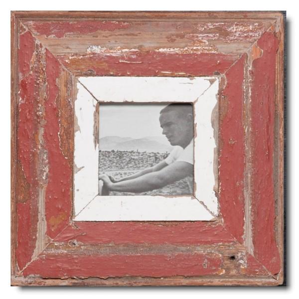 Quadratischer Vintage Bilderrahmen für Bildgröße DIN A6 Quadrat
