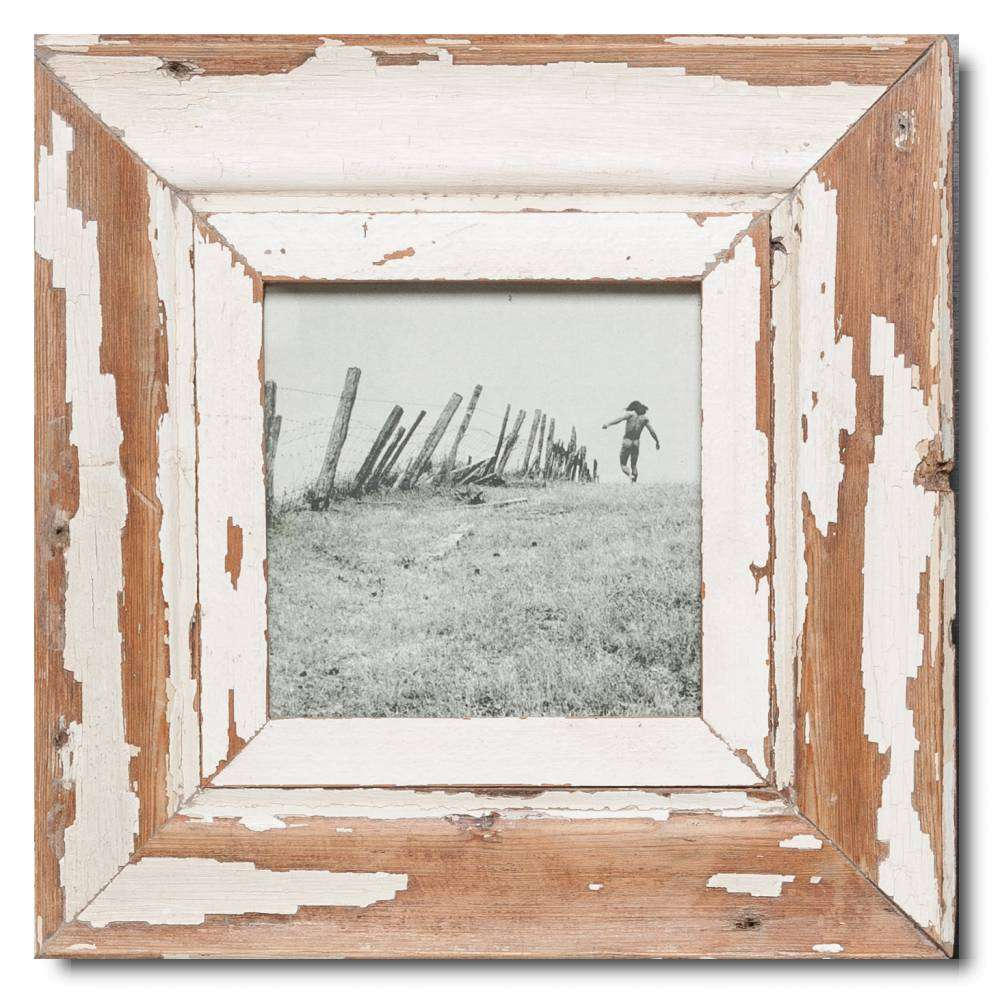 Quadrat Bilderrahmen aus recyceltem Holz | Cape Times