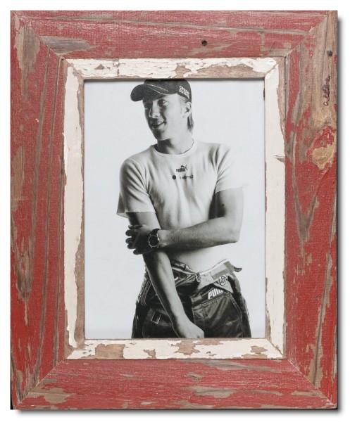 Bilderrahmen aus recyceltem Holz für Bildgröße 21 x 29,7 cm von Luna Designs