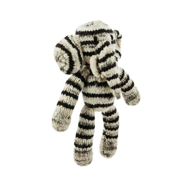 Stripey Woolen Elephant