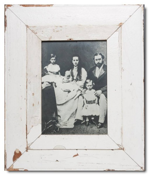 Breiter Altholz Bilderrahmen für Fotoformat 29,7 x 21 cm aus Südafrika