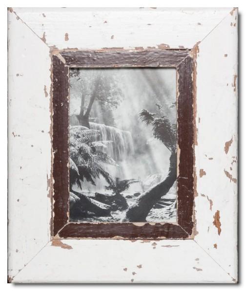 Altholz Bilderrahmen für Fotoformat DIN A5 aus Kapstadt