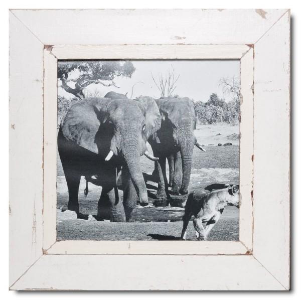 Quadratischer Vintage Bilderrahmen für Bildgröße 29,7 x 29,7