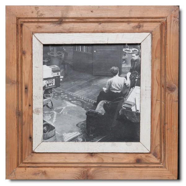 Quadratischer Vintage Bilderrahmen für Fotoformat 21 x 21 aus Südafrika