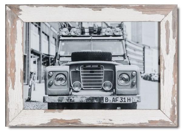 Basic Bilderrahmen aus recyceltem Holz für Bildformat 25 x 38 cm