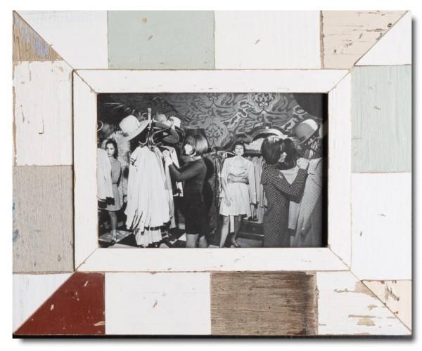 Vintage Bilderrahmen Mosaik für Bildformat DIN A5
