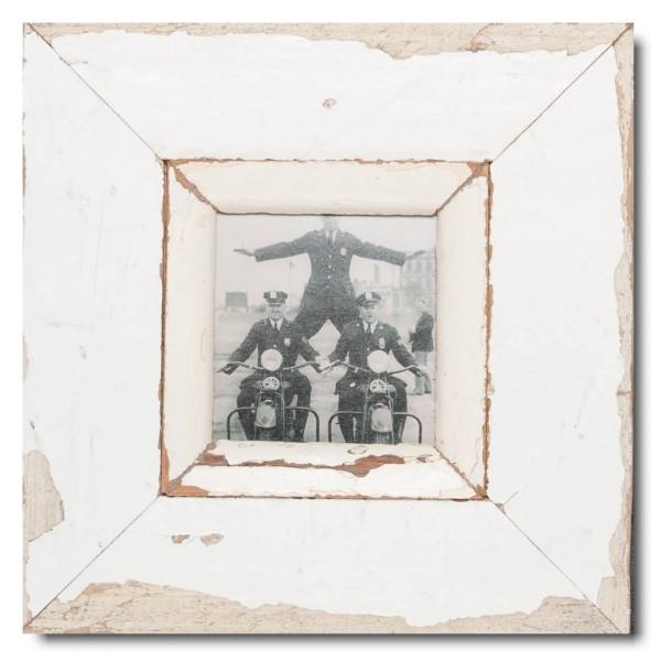 Altholz Bilderrahmen Quadrat für Fotogröße DIN A6 Quadrat aus Südafrika