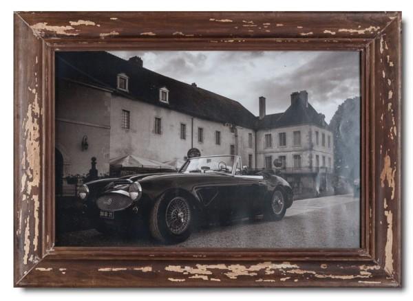 Basic Bilderrahmen aus recyceltem Holz für Bildgröße 25 x 38 cm