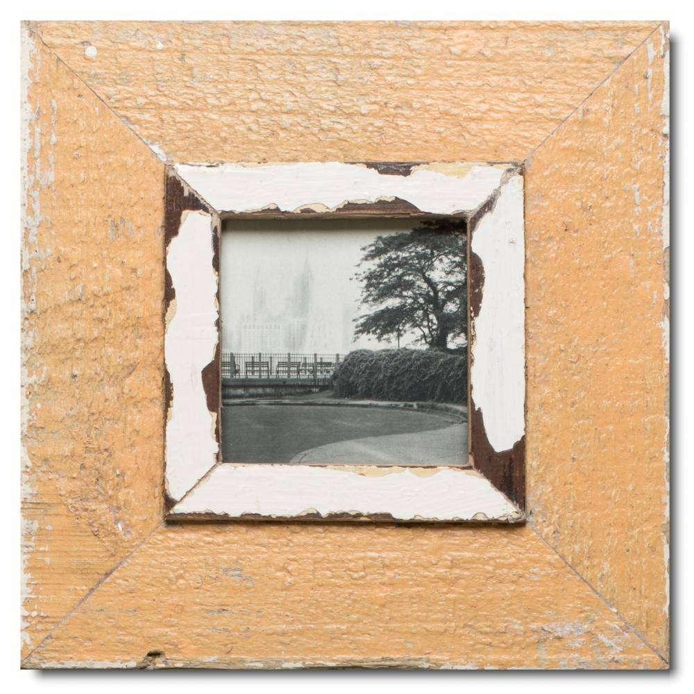 Quadratischer Vintage Bilderrahmen für Fotoformat 10,5 x 10,5 aus ...
