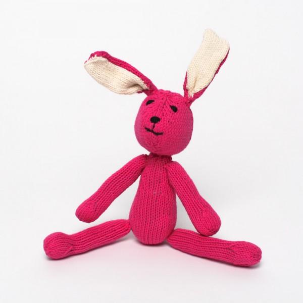 Baumwoll-Hase Pink