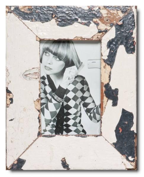 Basic Bilderrahmen aus recyceltem Holz für Bildgröße 10 x 15 cm