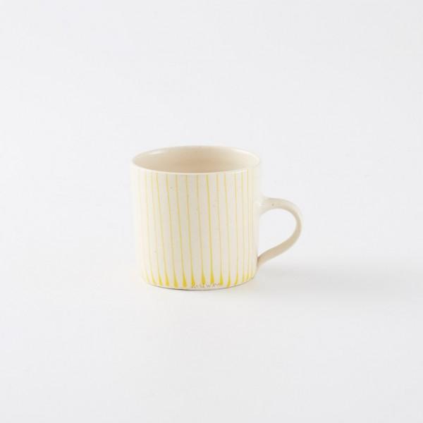 Large Straight Mug - Yellow