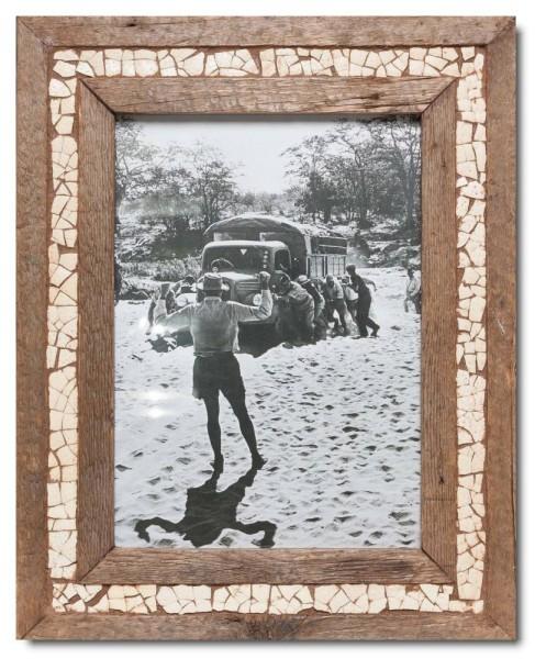 Wechselrahmen Straußenei-Mosaik für Fotogröße 29,7 x 21 cm