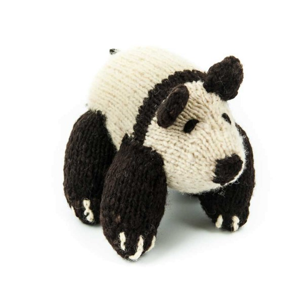 Woolen Panda Bear