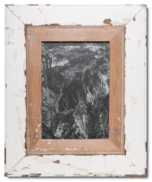 Breiter Altholz Bilderrahmen für Bildgröße DIN A4
