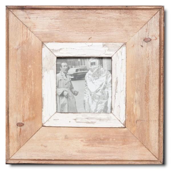 Quadrat Bilderrahmen aus recyceltem Holz für Fotoformat 10,5 x 10,5 von Luna Designs