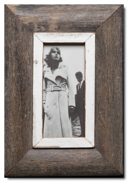 Panoramic reclaimed wooden photo frame for photo size A5 Panoramic ...
