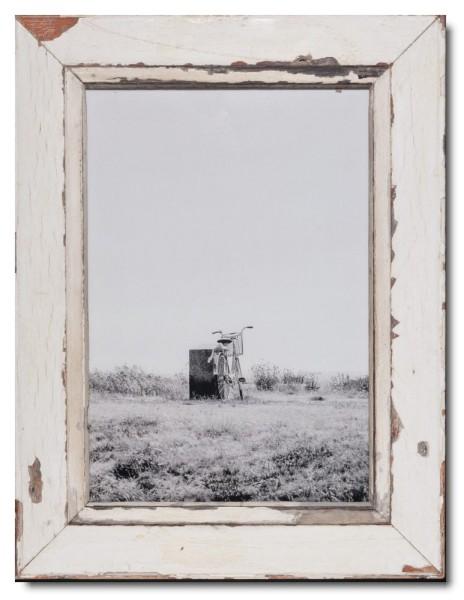 Bilderrahmen aus recyceltem Holz für Fotogröße 29,7 x 42 cm aus Kapstadt