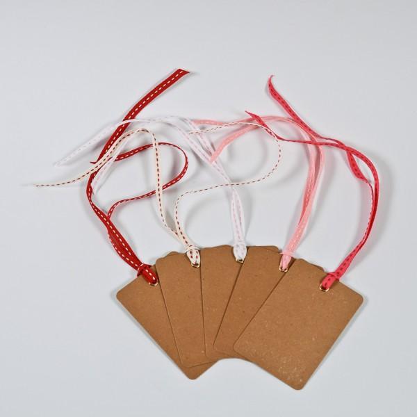 5 Geschenketiketten - Candy