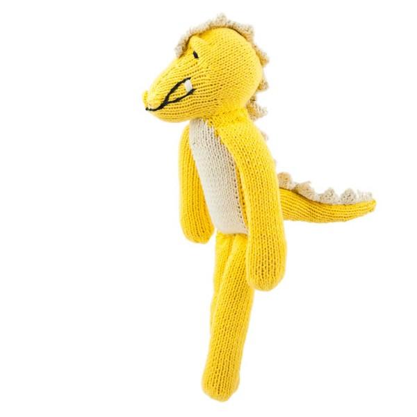 Gelbes Krokodil