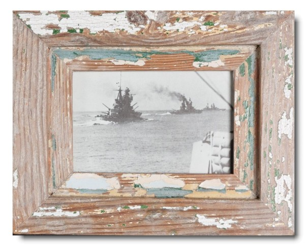Basic Altholz Bilderrahmen für Bildgröße 10 x 15 cm aus Südafrika