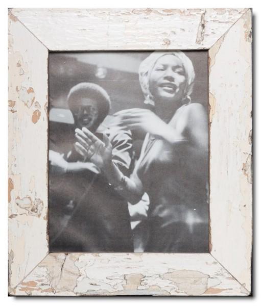 Basic Bilderrahmen aus recyceltem Holz für Fotogröße 20 x 25 cm aus Südafrika