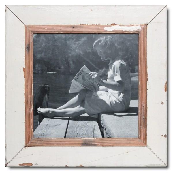 Altholz Bilderrahmen Quadrat für Bildformat 29,7 x 29,7