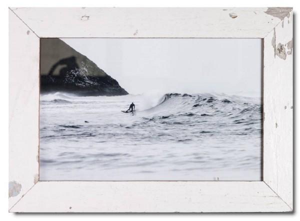 Basic Bilderrahmen aus recyceltem Holz für Bildgröße 25 x 38 cm aus Kapstadt