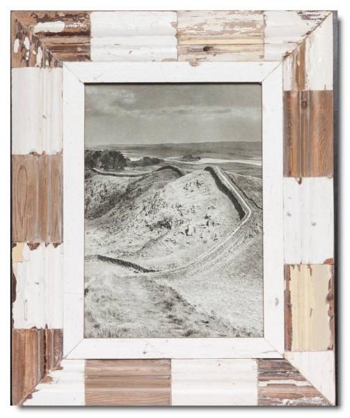 Mosaik Altholz Bilderrahmen aus Südafrika