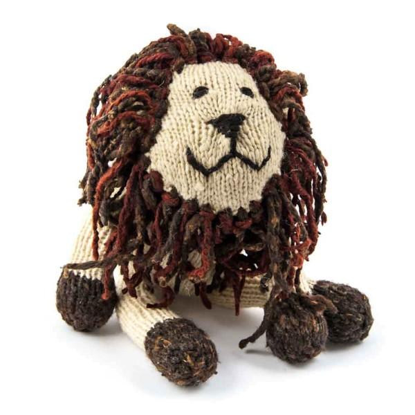 Sitting Woolen Lion