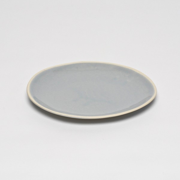 Grey Organic Side Plate L - Beach Sand