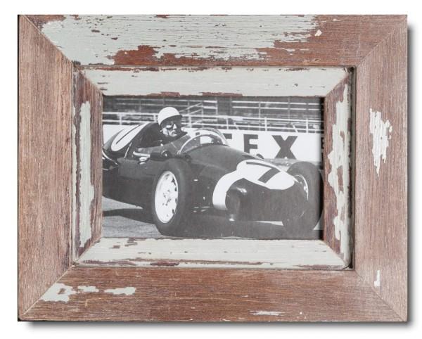 Basic Bilderrahmen aus recyceltem Holz für Fotogröße 10 x 15 cm aus Südafrika