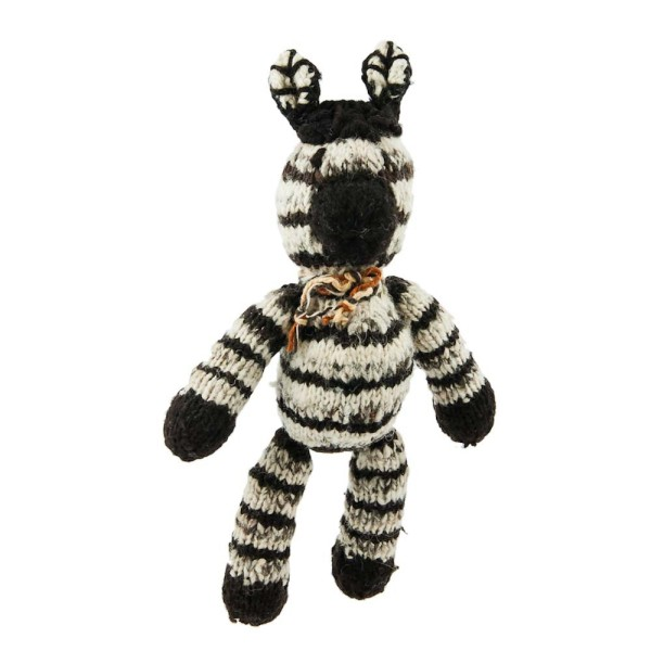 Gestreiftes Woll-Zebra