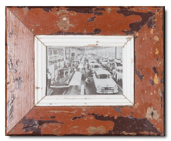 Bilderrahmen aus recyceltem Holz aus Südafrika
