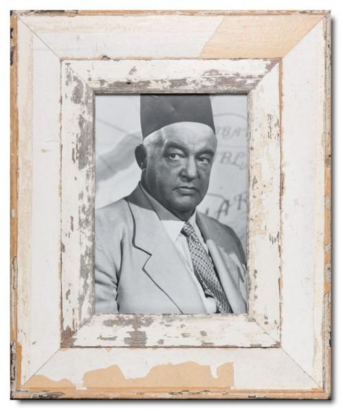 Vintage Bilderrahmen mit breitem Rand für Fotoformat DIN A4