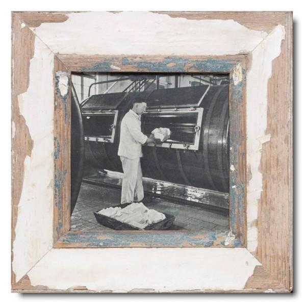 Quadratischer Vintage Bilderrahmen für Fotoformat 21 x 21