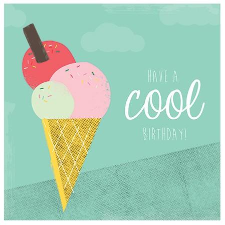 Karte - Ice Cream