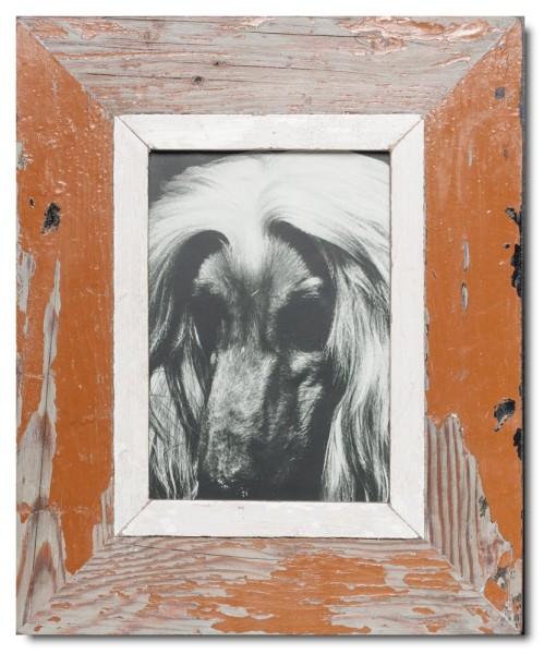 Bilderrahmen aus recyceltem Holz für Bildgröße 14,8 x 21 cm von Luna Designs