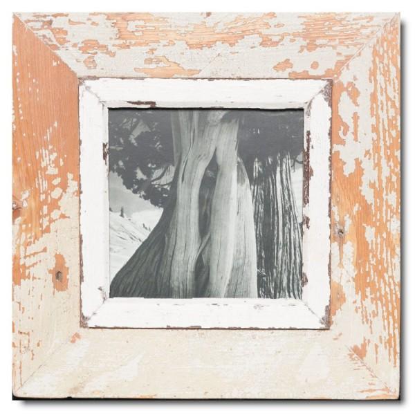 Altholz Bilderrahmen Quadrat für Bildformat 14,8 x 14,8