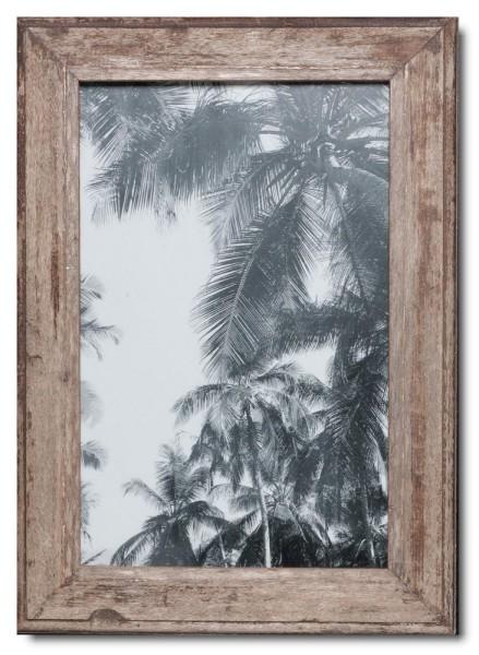 Basic Bilderrahmen aus recyceltem Holz für Bildgröße 25 x 38 cm von Luna Designs