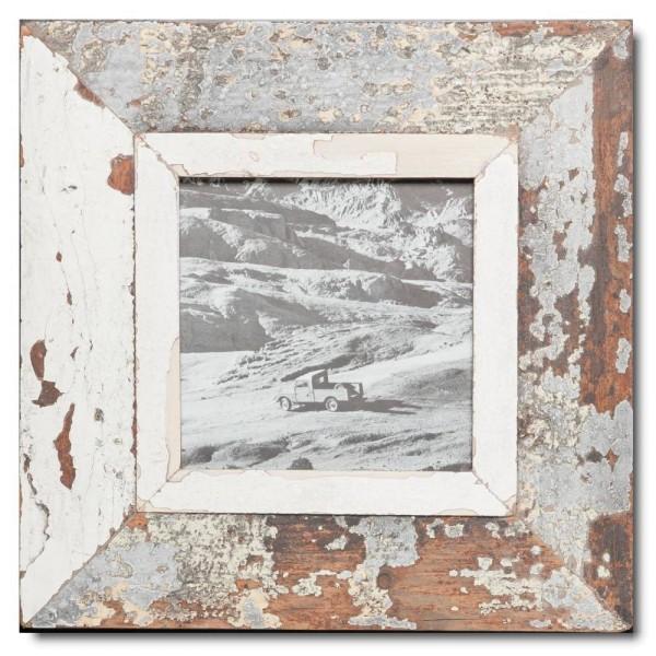Altholz Bilderrahmen Quadrat für Fotogröße 14,8 x 14,8