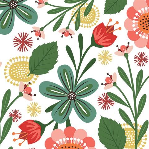 Karte - Flowerburst