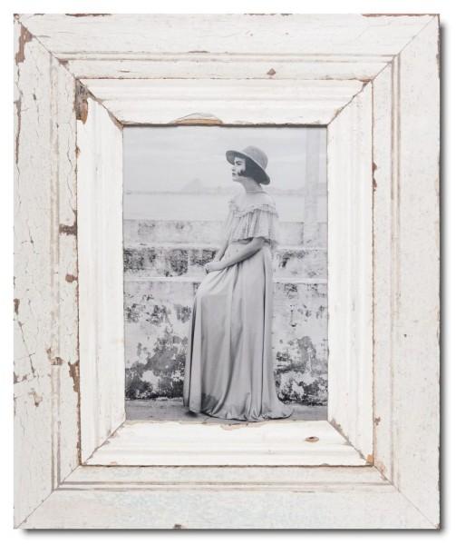 Vintage Bilderrahmen mit breitem Rand für Bildgröße DIN A4