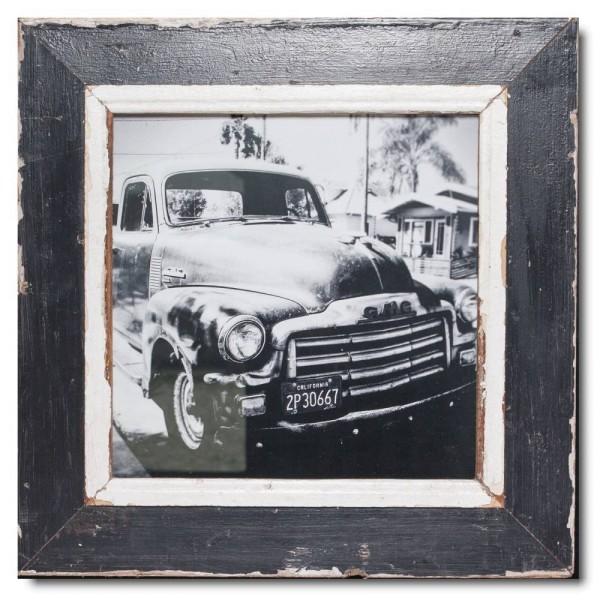 Quadratischer Vintage Bilderrahmen für Fotogröße 29,7 x 29,7