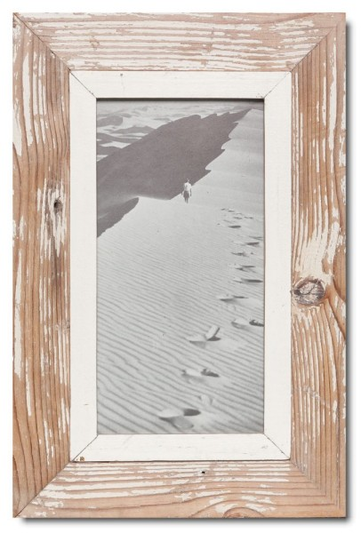 Altholz Bilderrahmen Panorama für Bildformat 29,7 x 14,8 cm