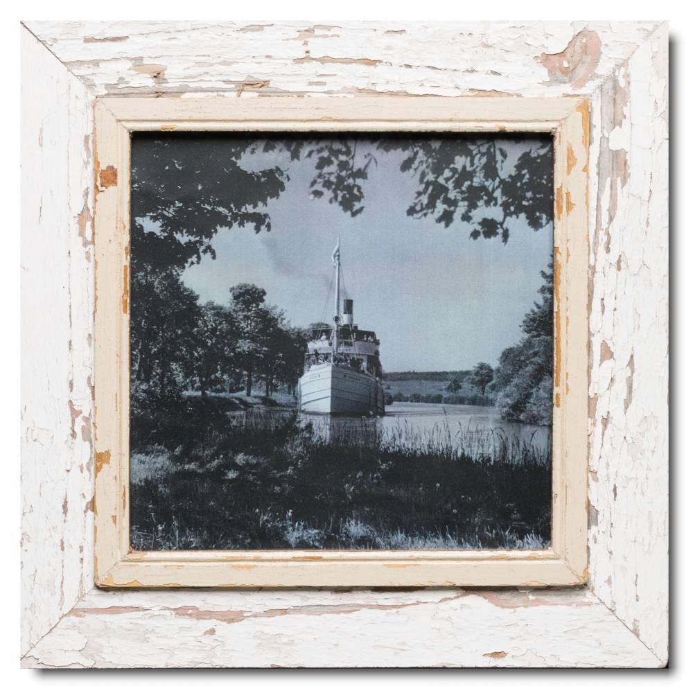 Quadrat Bilderrahmen aus recyceltem Holz für Fotoformat DIN A3 ...